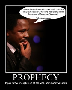 Prophecy - TB Joshua style