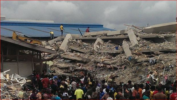 The collapse building that killed 116 people