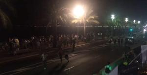 84 people were killed in Nice, when a truck driver rammed into the parade.